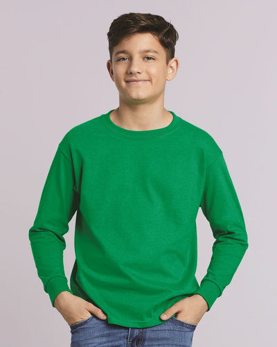Gildan - Ultra Cotton® Youth Long Sleeve T-Shirt - 2400B - Empyre9 LLC