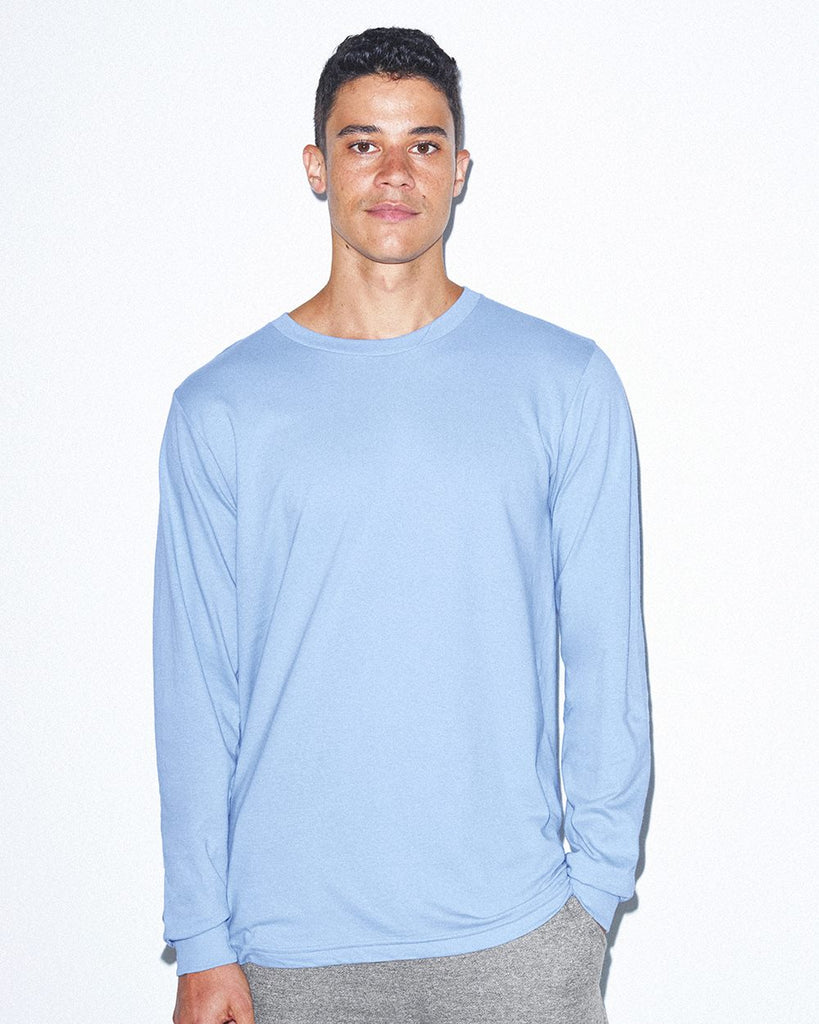 American Apparel - Fine Jersey Long Sleeve Tee - 2007W