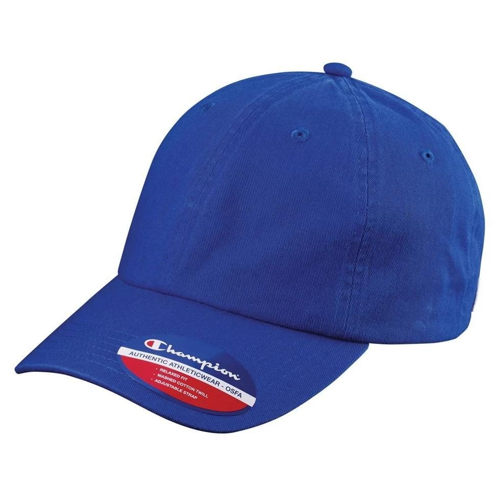 Champion - Washed-Twill Dad's Cap - CS4000 - Customized