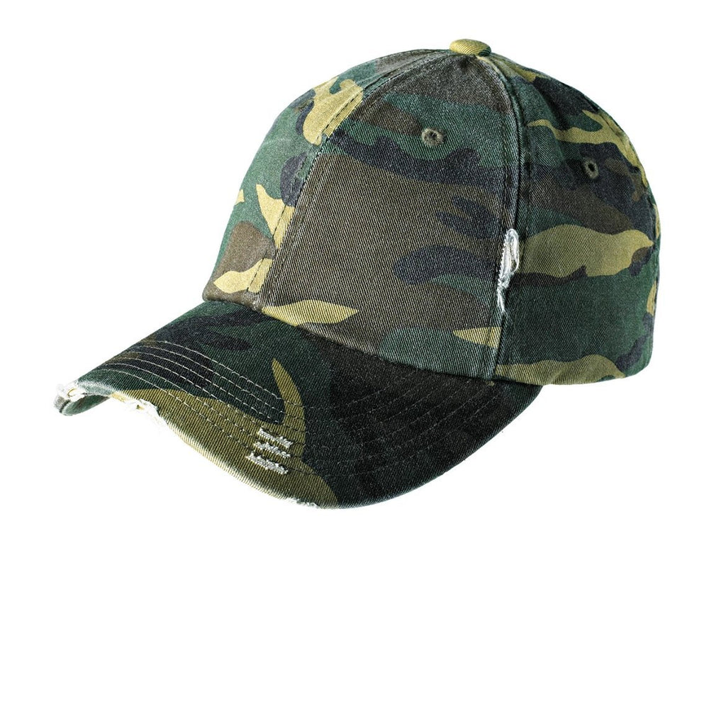 District ® Distressed Cap - DT600 - Customized