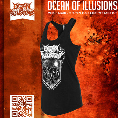 """Open Your Eyes"" Women's Tank Top - Empyre9 LLC"