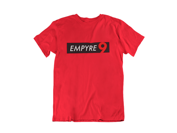 Empyre9 Classic Short Sleeved T-Shirt - Red