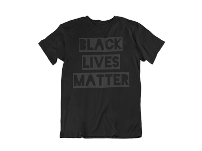 Black Lives Matters (Dark Text) T-Shirt - Empyre9 LLC