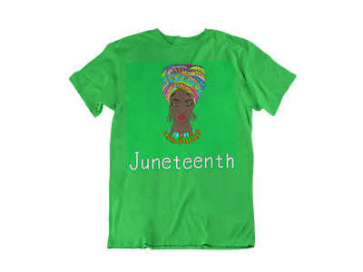 Green Juneteenth Shirt - Empyre9 LLC