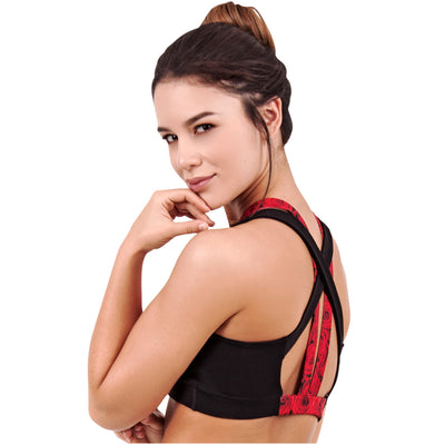 Luxury Roses Workout High Impact Run Bras