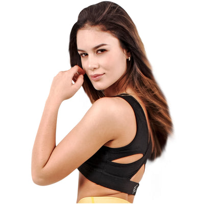 Luxury Golden Workout High Impact Run Bras