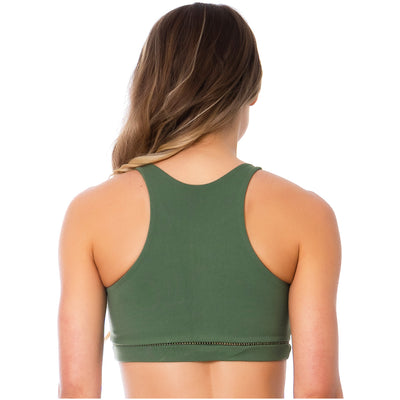 FLEXMEE Sportwear-Sport Bra 902035 2020-1 Spring Summer Collection Color Moss