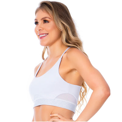 FLEXMEE Sportwear-Sport Bra 902054 2020-1 Spring Summer Collection Color White