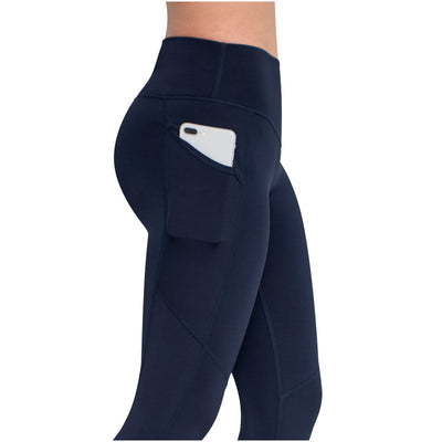 Women's Actiwear Workout Slimming Leggings with Tummy Control
