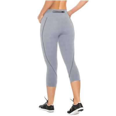 Activewear Womens Mid Rise Workout Capri Leggings