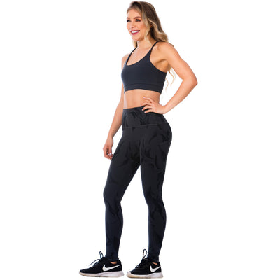 FLEXMEE Sportwear-Legging 946171 2020-1 Spring Summer Collection Color Gray