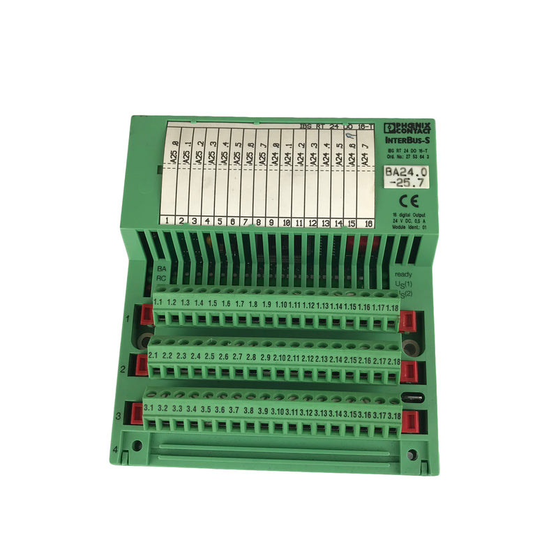 Phoenix Contact IBSRT24DO16-T Interbus Modul