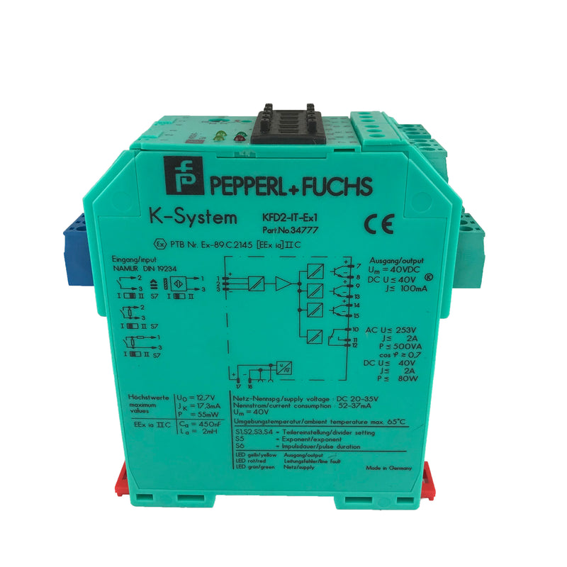 Pepperl+Fuchs KFD2-IT-EX1 Relais *Gerbaucht / Used*