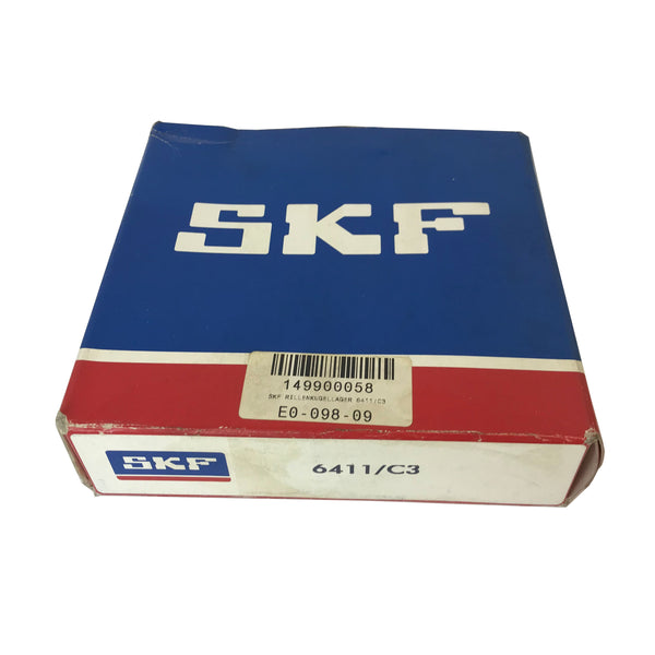 SKF 6411/C3 55x140x33mm Rillenkugellager