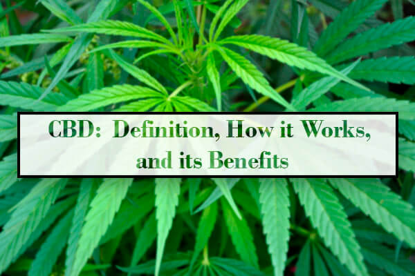CBD:  Definition, How it Works, and its Benefits