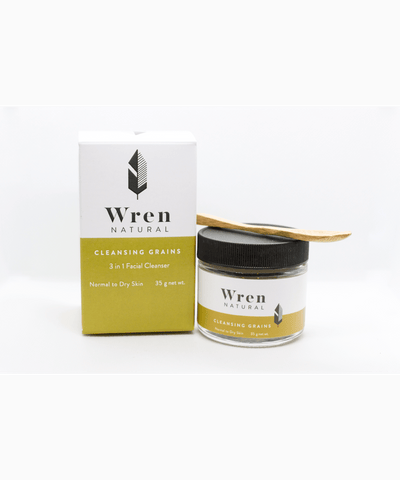 Facial Cleansing Grains - Normal Cleansers Wren Natural