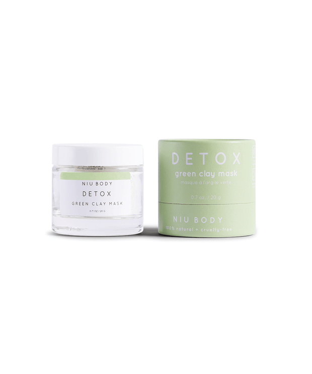 Detox Green Clay Mask Mask NIU Body