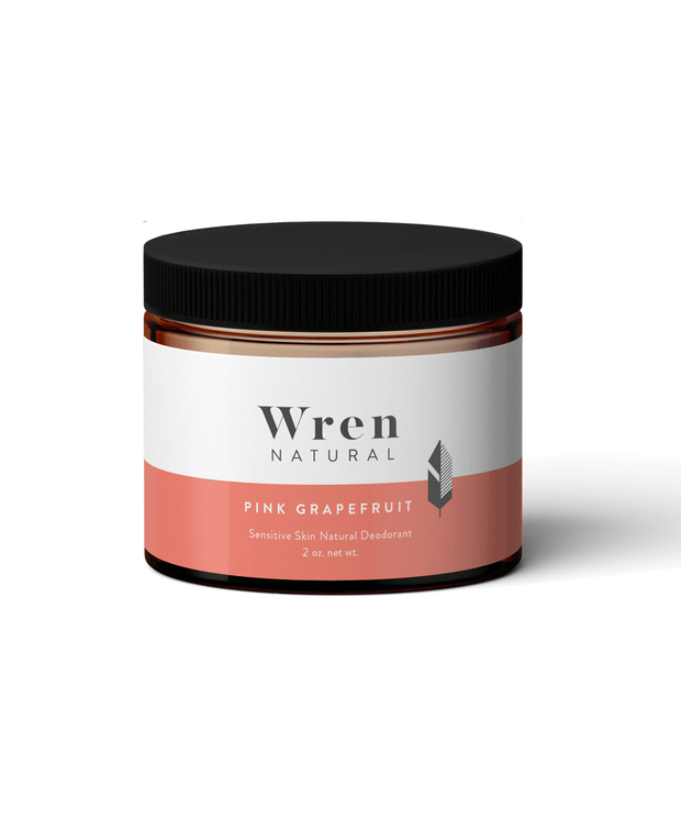 Sensitive Natural Deodorant - Pink Grapefruit Personal Care Wren Natural