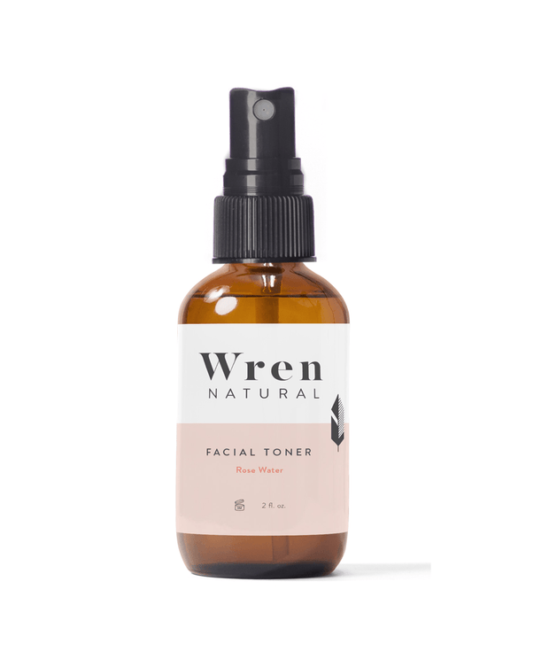 Facial Rose Water Toner Toners Wren Natural