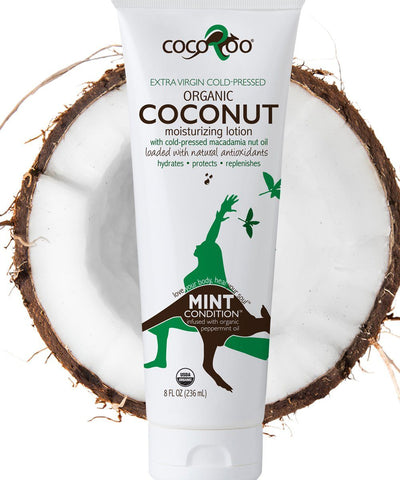 Mint Condition Organic Coconut Oil Moisturizer Moisturizer CocoRoo