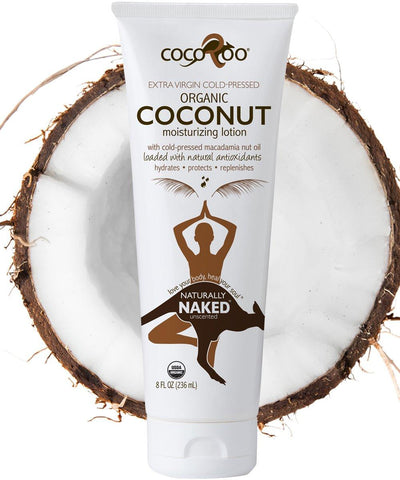 Naturally Naked Organic Coconut Oil Moisturizer Moisturizer CocoRoo