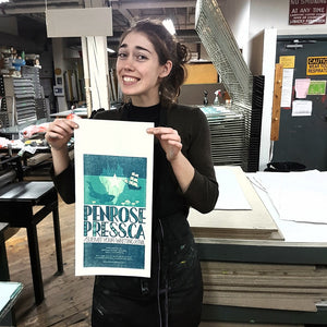 Nerd Time with Brianna - Linocut Printmaking
