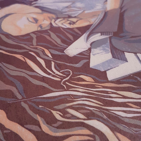 Detail of Reading Nook - Brianna Tosswill
