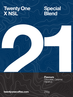 21 x NSL - Special Blend Coffee