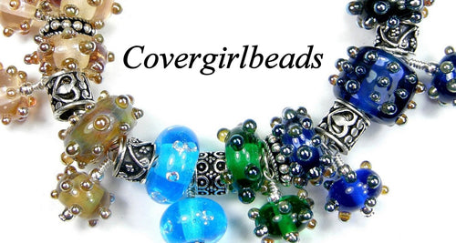Handmade Lampwork Beads, Large Hole Lampwork Beads and Artisan Handmade Jewelry