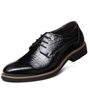 Men Shoes - 2019 New Genuine Leather Business Men Shoes