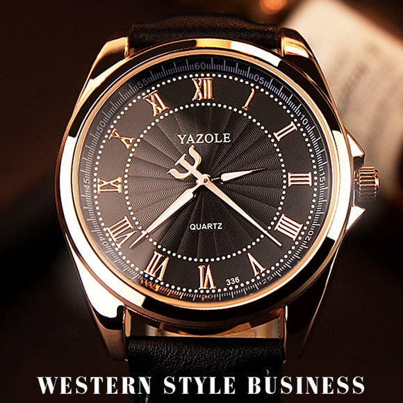 Top Brand Luxury Male Quartz Business Men's Watch