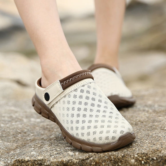 Mesh Breathable Padded Beach Lighted Casual Shoes