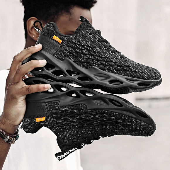 2020 Men's New Casual Sports Lace-up Chunky Platform Sneakers