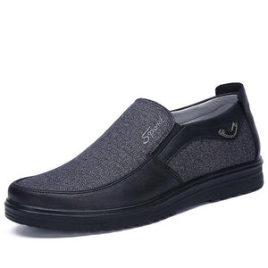 Vipupon Mens' Casual Comfortable Breathable Slip-on Flat