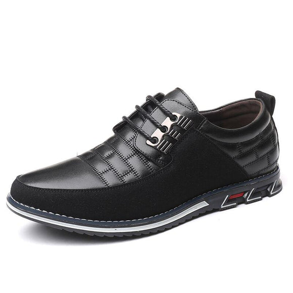 Vipupon Fashion Casual Big Size Leather Oxfords Shoes