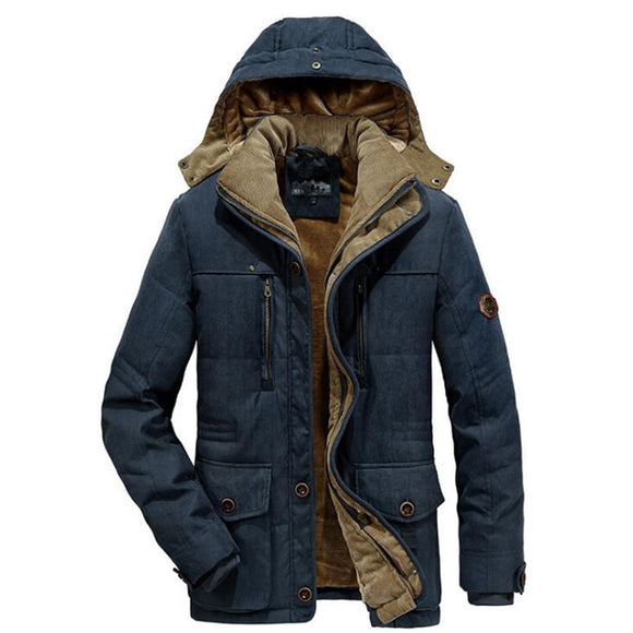 Vipupon Cotton-Padded Warm Thicken Coats