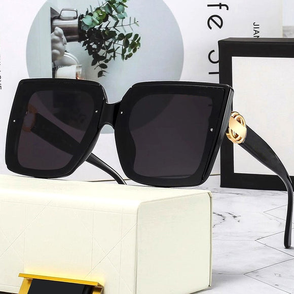 2021 Luxury New Oversize Square Sunglasses