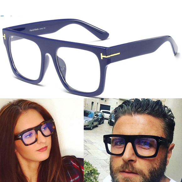Men Women Trending Styles Fashion Optical Square Computer Glasses(EXTRA BUY 2 GET 5% OFF, 3 GET 10% OFF)