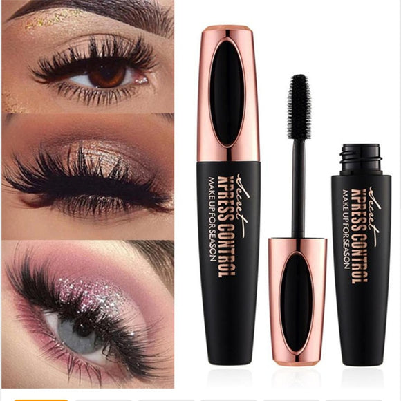 4D Silk Fiber Lash Mascara Waterproof Rimel 3d Mascara For Eyelash Extension