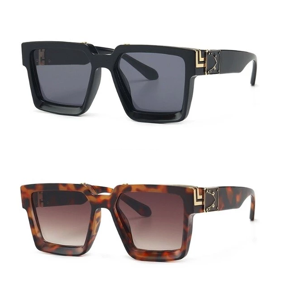Square Luxury Fashion UV400 Sunglasses