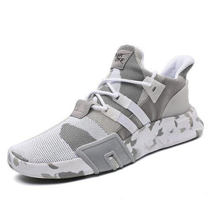 Shoes - Men Mesh Breathable Camouflage Fashion Sport Shoes