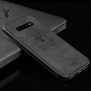 Vipupon Soft Cloth Phone Case For Samsung Galaxy S9 S8 Plus Note 9