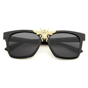 Retro Bee Women Men Brand Designer Sunglasses