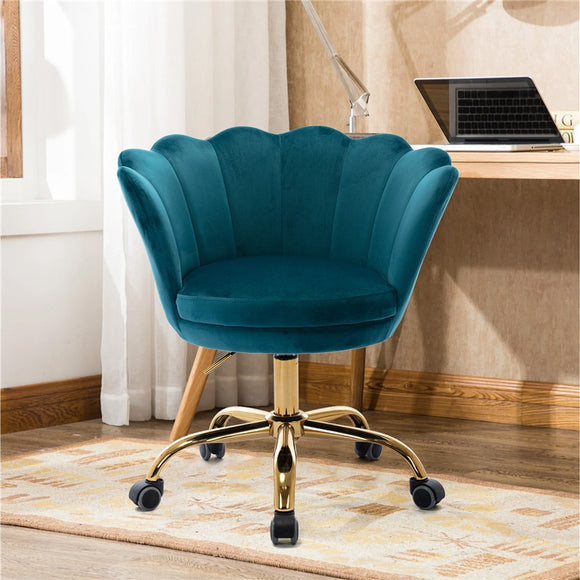 Vipupon Modern Adjustable Upholstered Velvet Chair