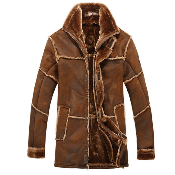 European Style Male Fashion Thick Warm Outwear