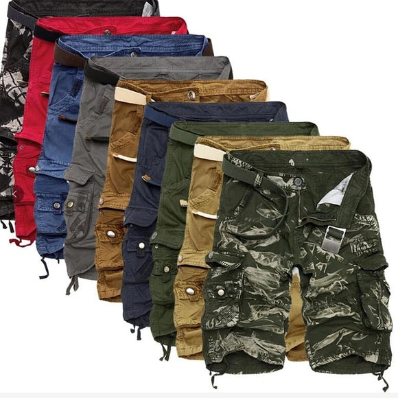 Men Military Tactical Camo Cargo Shorts (Buy 2 Get Extra 10% off, buy 3 Get 15% off )