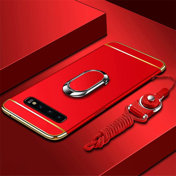 Luxury Magnetic Ring Ultra Thin Matte Case for Samsung S10e S10 Lite
