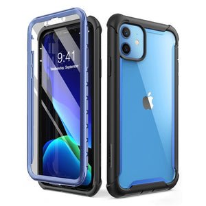 Full-Body Rugged Clear Bumper Cover Case with Built-in Screen Protector 【Buy 2 Get Extra 10% OFF, Buy 3 get 25% OFF 】