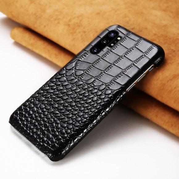 Genuine Leather Phone Case For Samsung