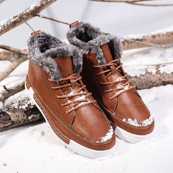 Shoes - Winter Warm Fur Snow Boots